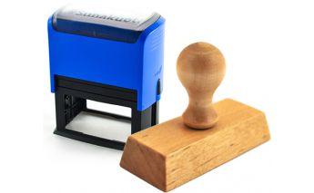 Individualių medinių ir automatinių antspaudų gamyba