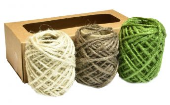 3 colors jute cord