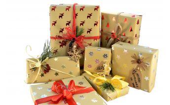 Kalėdinis dovanų popierius