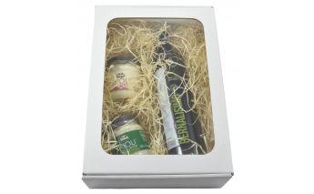 Dėžė dovanoms A4 su langeliu iš mikrogofros