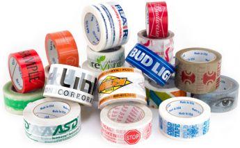 Plastikinė ar popierinė lipni juosta su individualia spauda