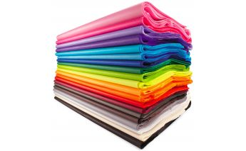 Premium tissue colored silk paper
