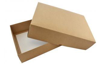 Dviejų dalių kartoninė dovanų dėžutė