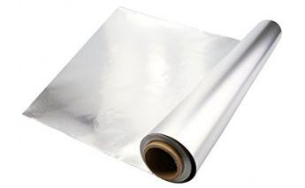 Aliuminio folija dėžutėje su nupjovimo peiliu