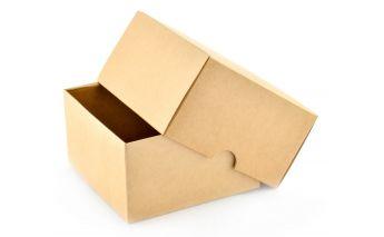 Kartoninė dviejų dalių dovanų dėžutė