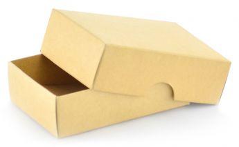Dviejų dalių kartoninė spalvota dovanų dėžutė