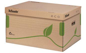 Ekologiško kartono archyvavimo dėžė Esselte, atidaroma iš viršaus