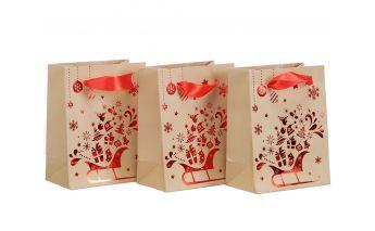 Kalėdiniai dovanų maišeliai