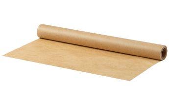 Rudas kepimo popierius, iš abiejų pusių padengtas silikonu