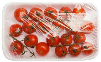Skaidri plėvelė maistui rulone pagaminta iš LLDPE