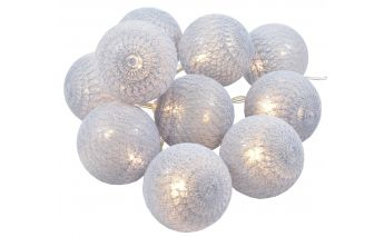 Medvilninių burbulų girlianda
