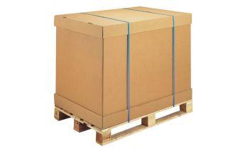 Kartoninės paletinės dėžės Euro standarto padėklams 80x120 cm