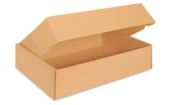 Lengvai sulankstoma kartoninė paštomatinė dėžė S dydžio paštomatams
