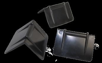 Plastikiniai apsauginiai kampai briaunų, kampų apsaugai