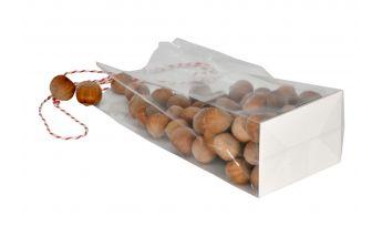Plastikiniai maišeliai su dugnu