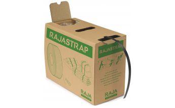 Ekologiškas PP rišimo juostos rinkinys dėžeje su sagtimis
