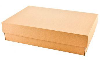 Dviejų dalių dovanų dėžutė iš mikrogofros