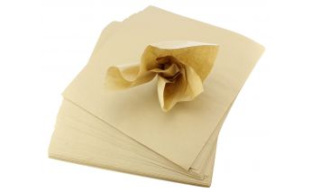 Brown silk paper