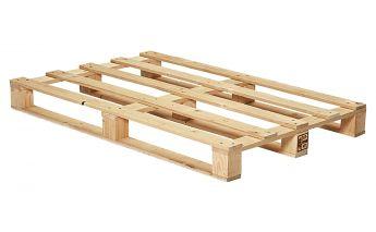 Naujos medinės vienkartinės paletės